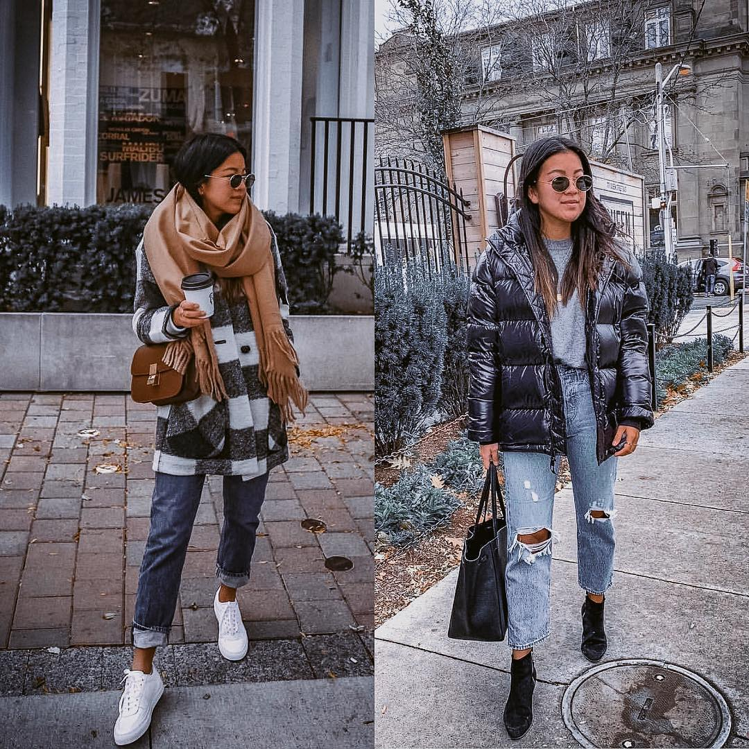 Winter Essentials: Puffer Jacket Or Wool Striped Jacket 2020