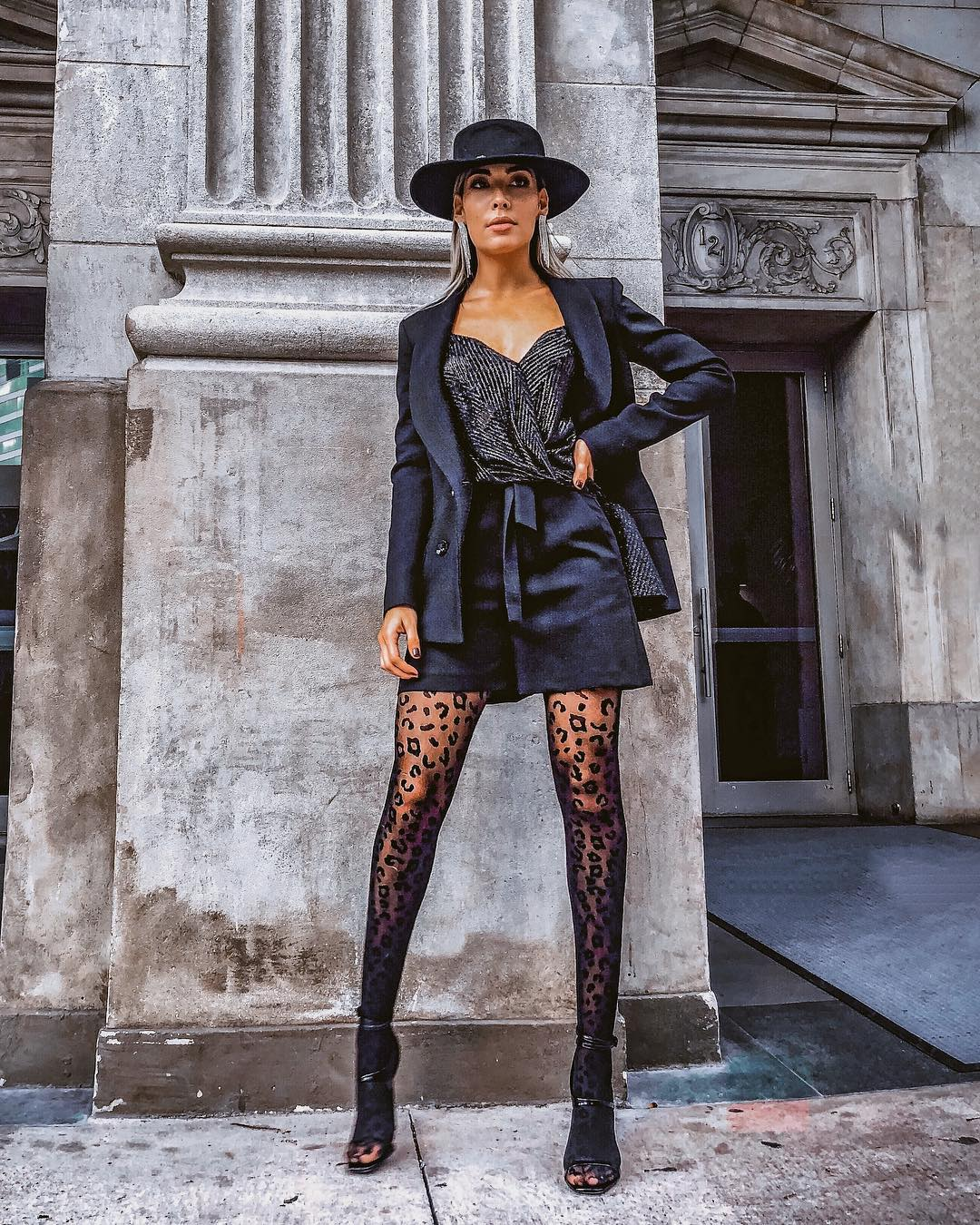 Fall Shorts Suit In Black For Night Outs 2020