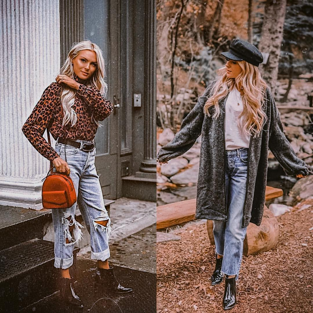 How To Wear Boyfriend Jeans This Fall In Casual Way 2020