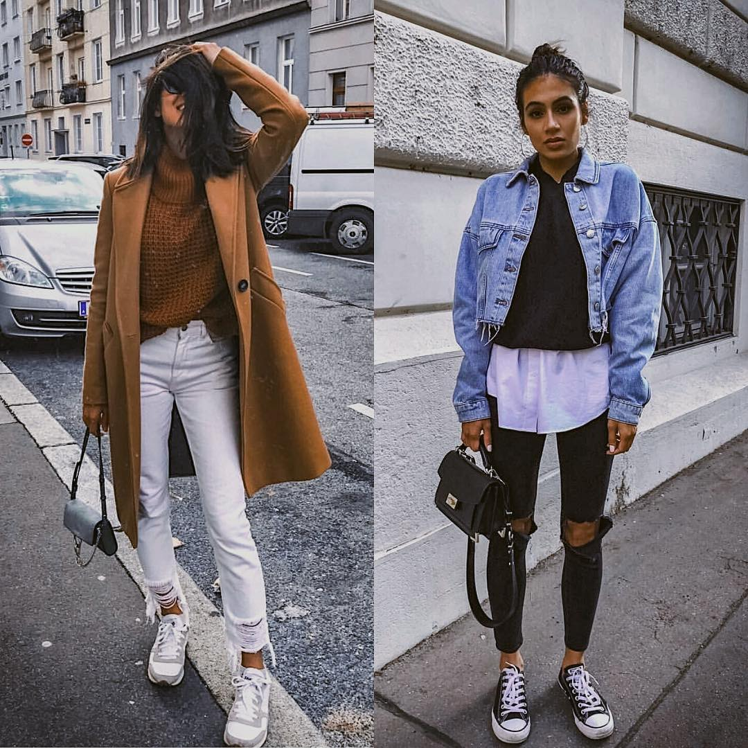 Camel Coat Versus Denim Jacket For Fall 2019