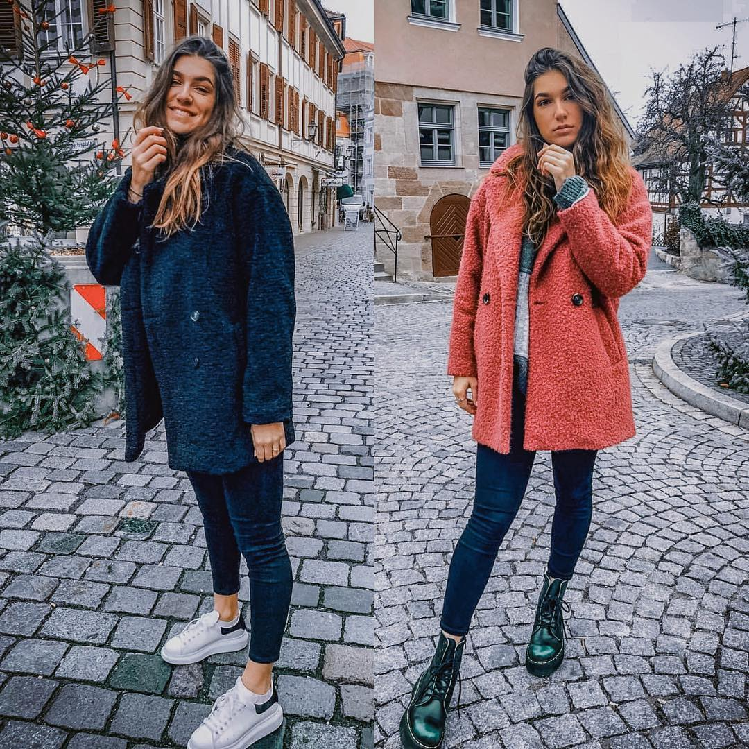 Teddy Bear Jackets For Fall: Black Or Pastel Maroon 2019