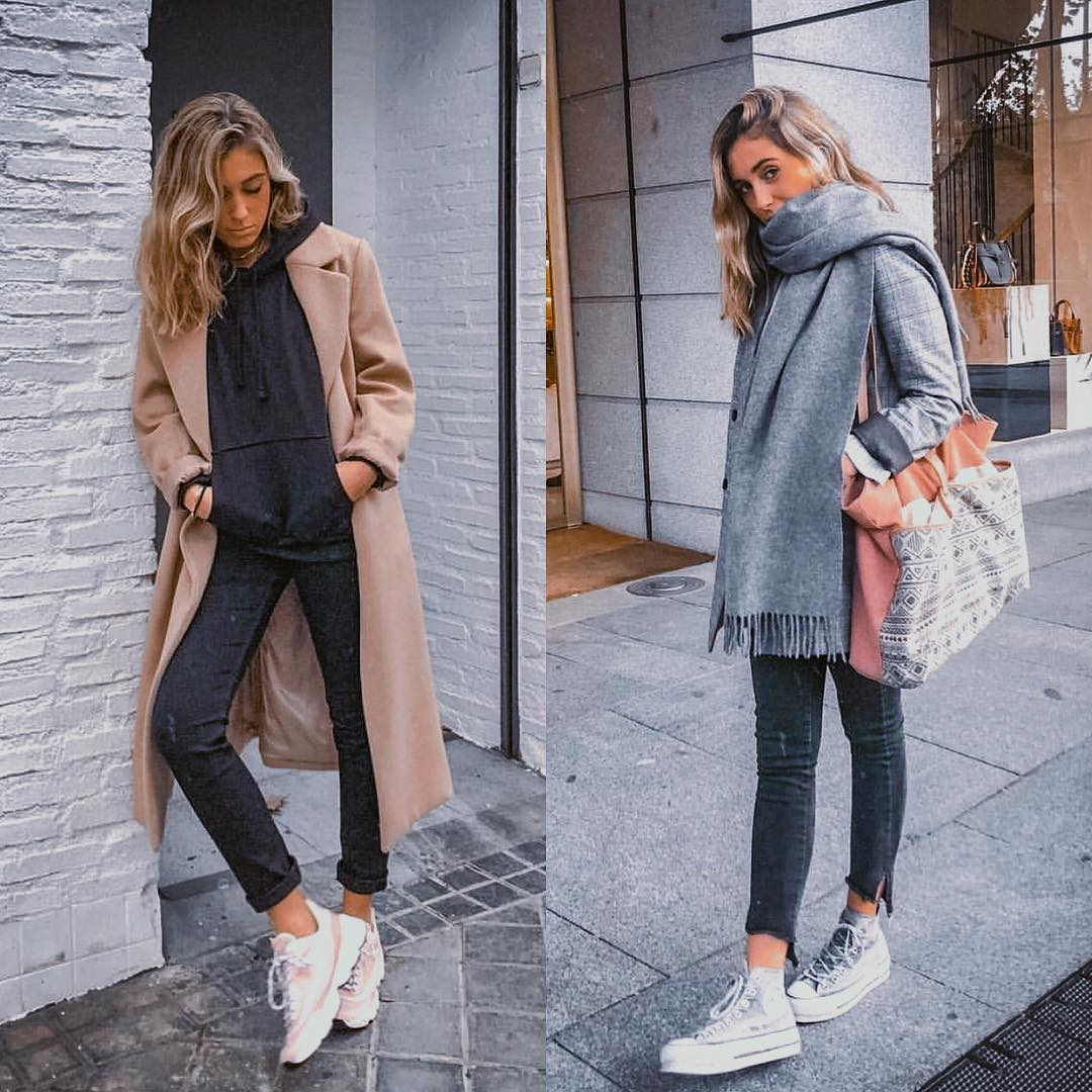 Urban Essentials And Must-Haves: Coats, Hoodies And Oversized Scarves 2019