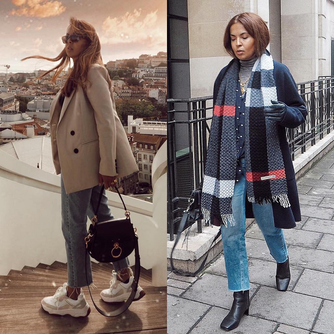 Parisian Chic Outfit Idea: Sporty Touch Or Classy Mood 2019