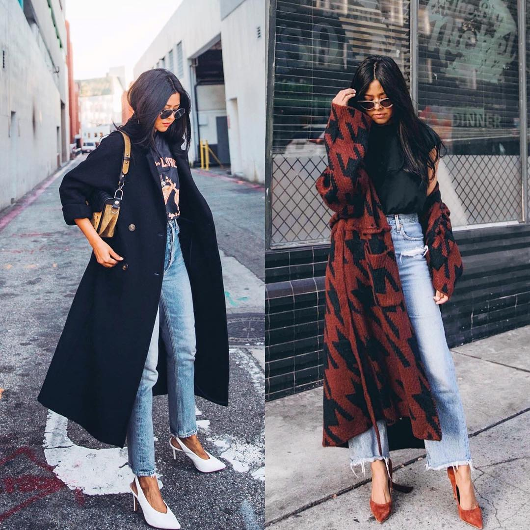 How To Style Long Coats This Fall And Look Chic 2021