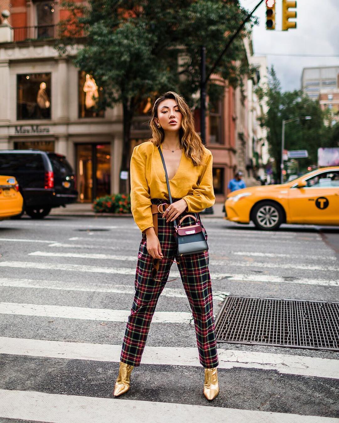 How To Wear Plaid Pants This Fall 2019