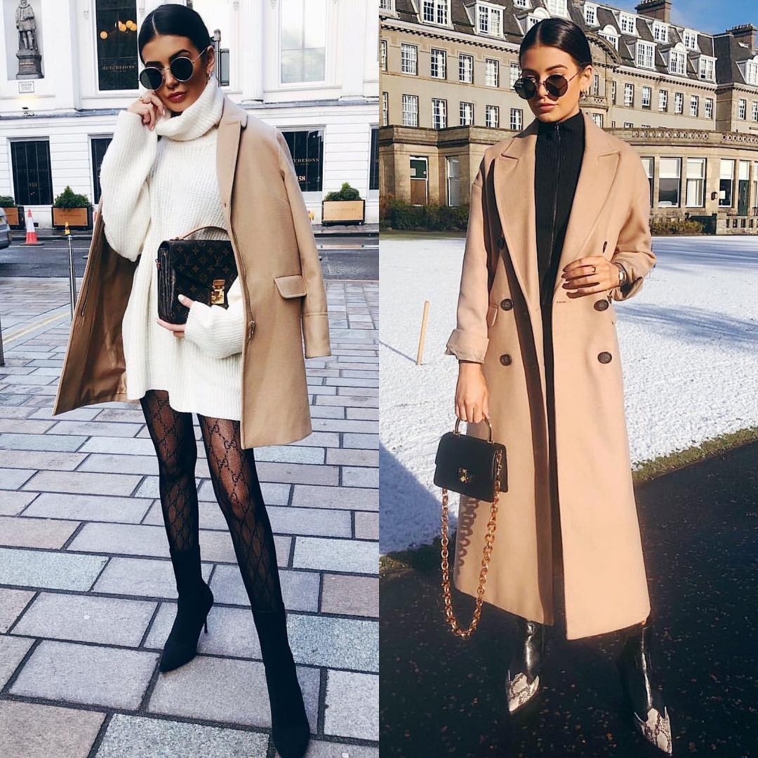 How To Wear Camel Coats This Winter: Simple Looks To Copy 2019