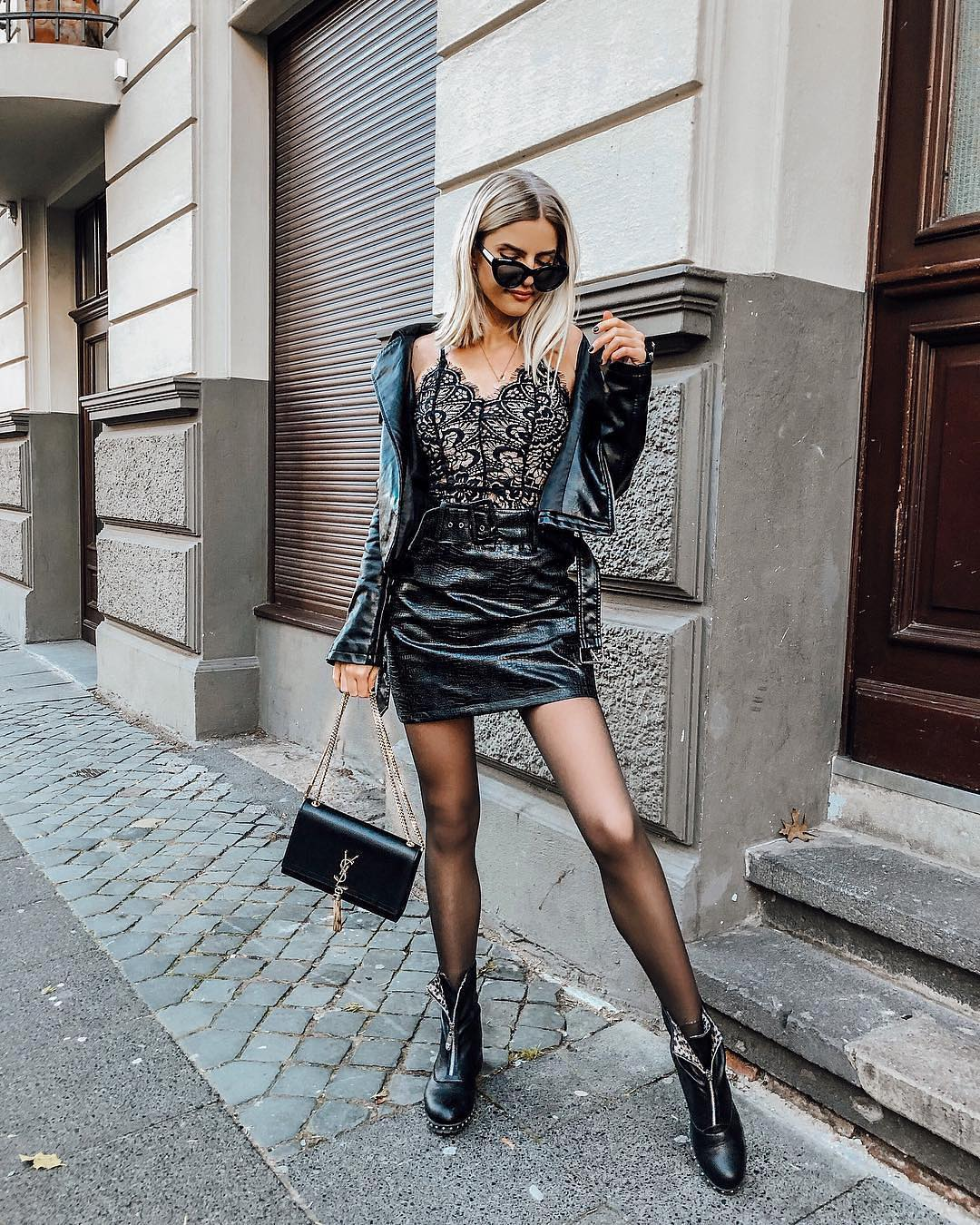 How To Create All Black Edgy Look For Spring 2019