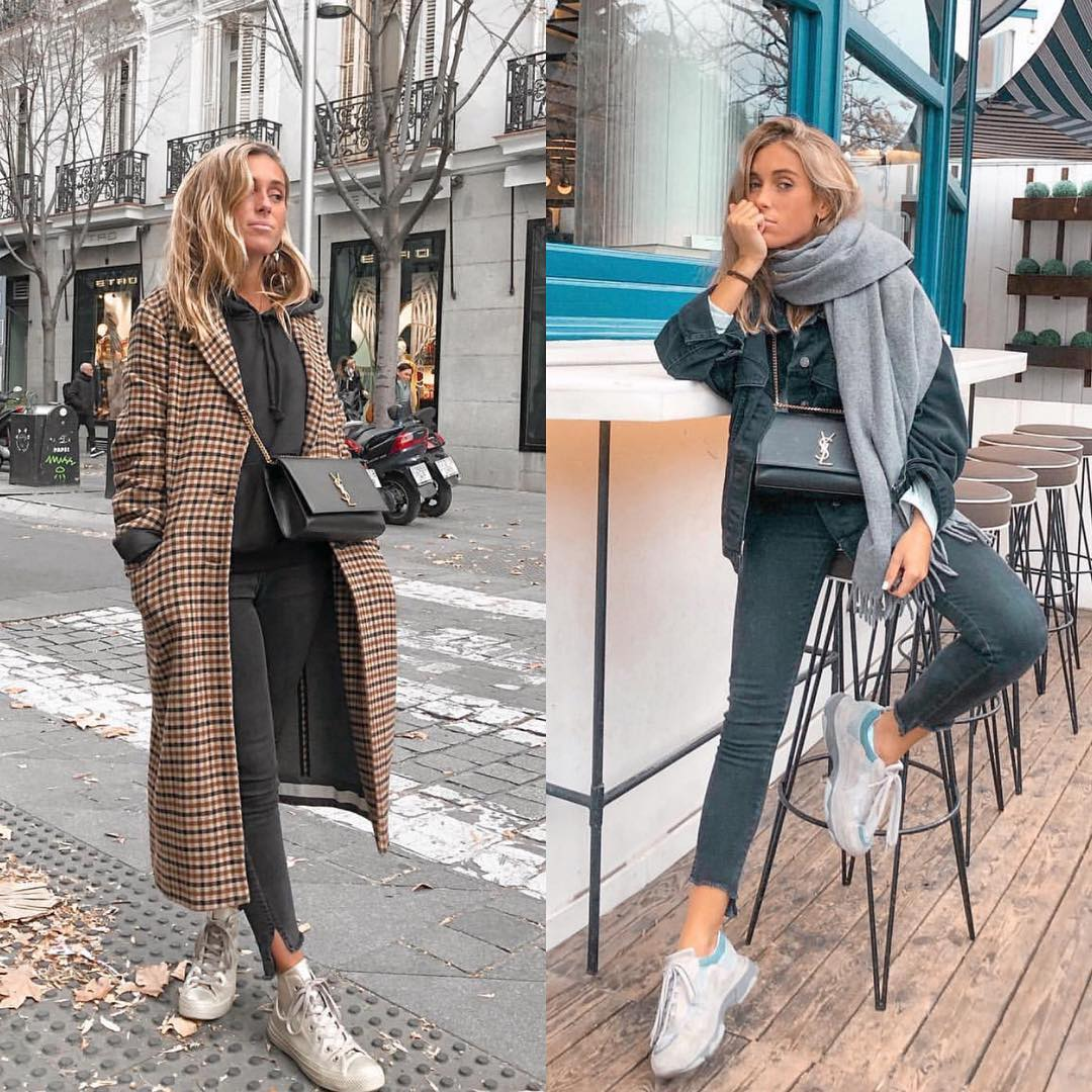 Fall Essentials With Sneakers: Best Outfits To Try Now 2019