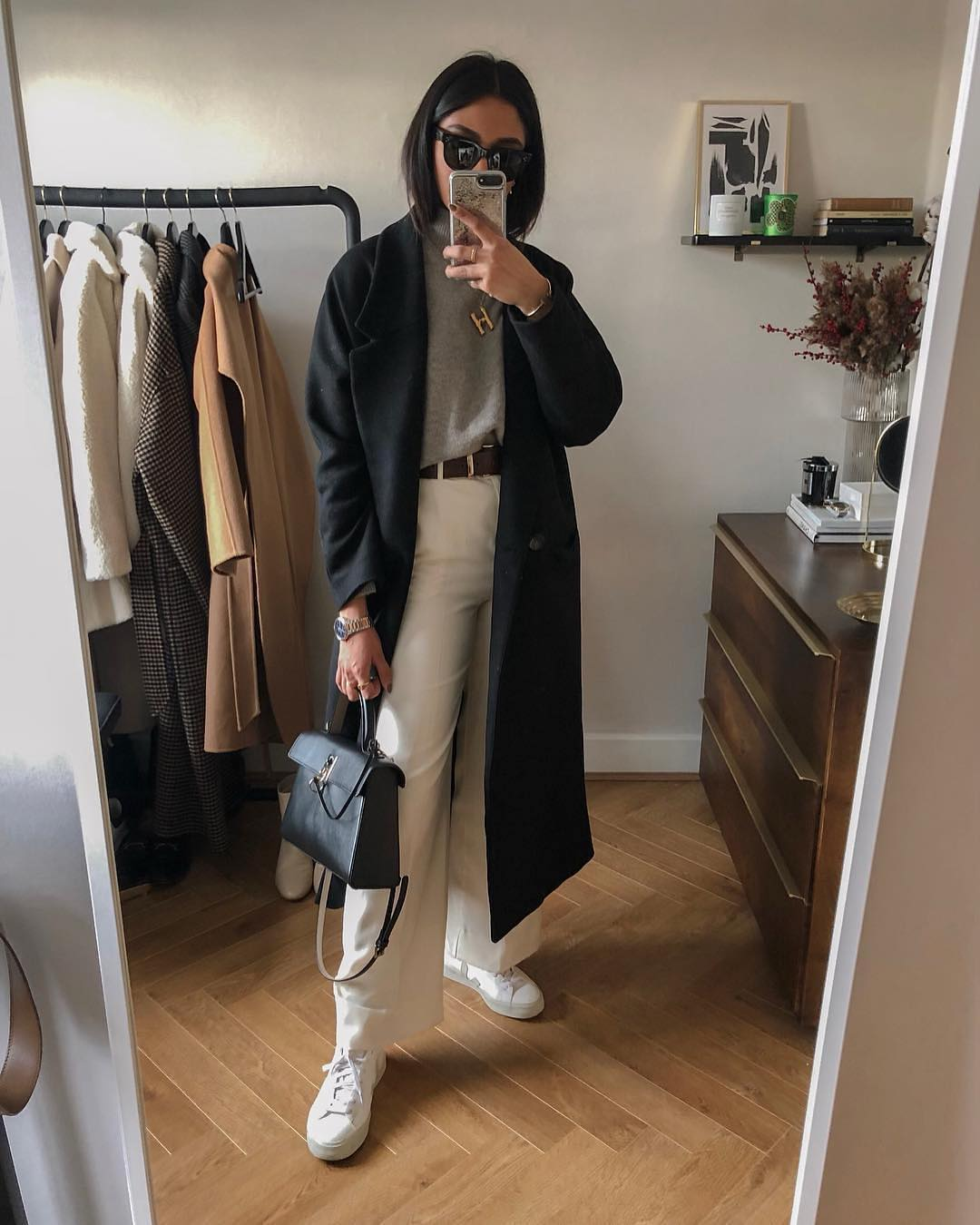 Normcore Basics: Long Coats For Fall 2019