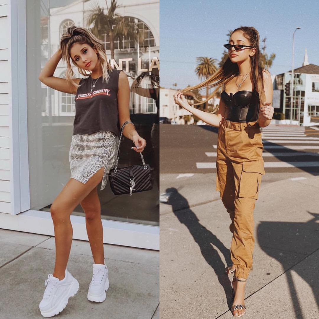 Cargo Pants And Snakeskin Print Skirt: Coachella Inspiration 2020