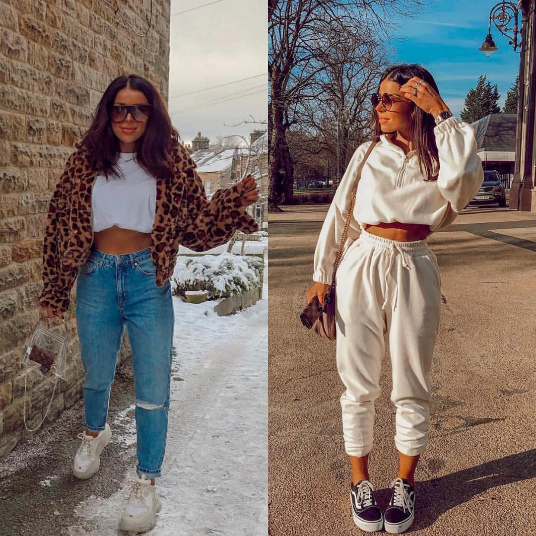 Sneakers And Crop Tops: Athleisure Style For Casual Trips 2020