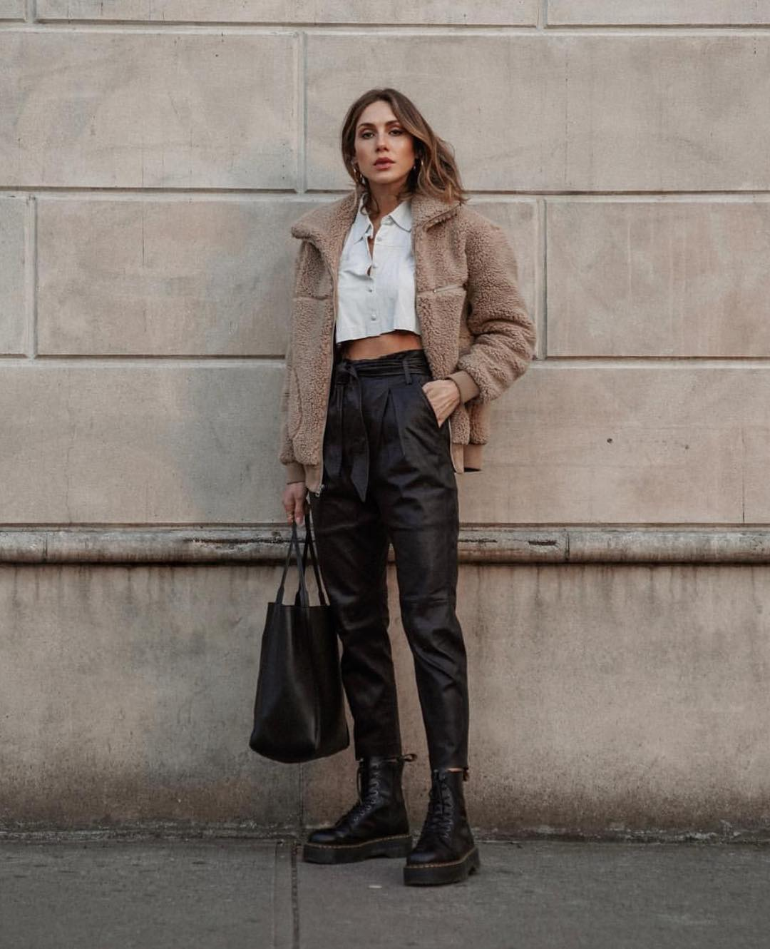 Spring Urban Essentials For Women: Leather, Denim And Kicks 2019