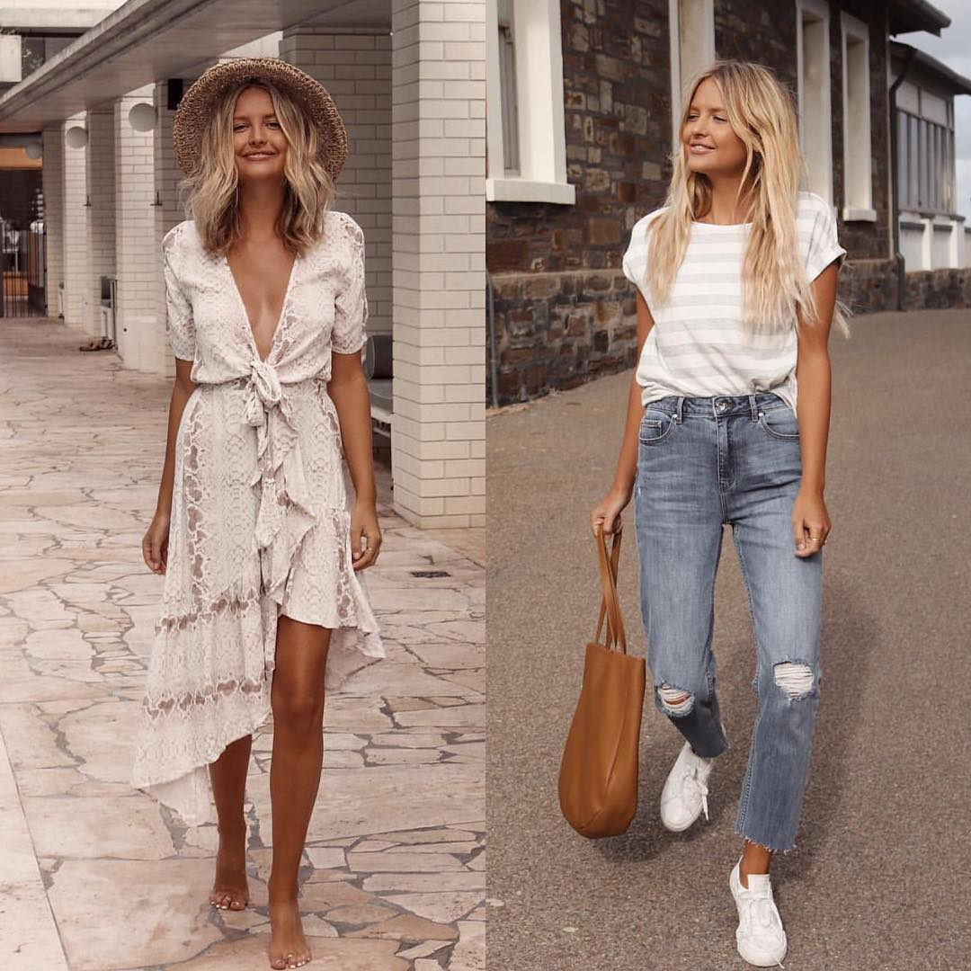 Boho Versus Casual Style For Summer Season 2019